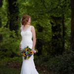 bride at reid brake house in warrior al