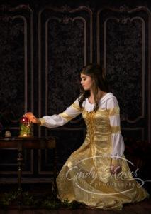 Belle senior model concept session, fairy tales