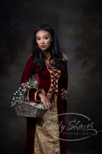 red riding hood concept shoot, senior model, huntsville photographer, cindy shaver photography