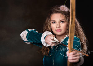 fairy tale, merida, senior concept sessions