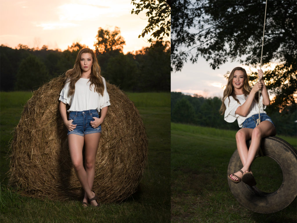 senior girl on the farm senior pictures cindy shaver photography photographer