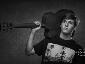 senior guy picture guitar musician pictures alabama photographer